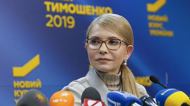 Тимошенко: Не будем вести никаких переговоров, пока не опубликуют результаты выборов