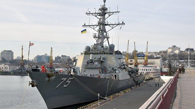 СМИ: Американский эсминец Donald Cook зашел в Одессу