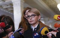 Тимошенко рассказала, будет ли устраивать новый Майдан в случае своего поражения