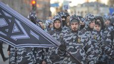 """Ультраправая коалиция: с какими зарубежными партиями работает """"Нацкорпус"""""""