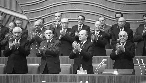 Судьбоносный пленум: как выбрали Горбачева