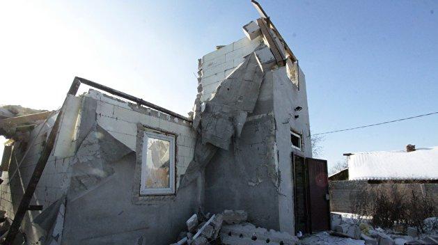 Украинские силовики обстреляли хранилище хлора