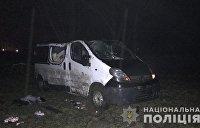 В Тернополе маршрутка вспыхнула на ходу