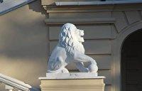 «Я тебя слепила из того, что было»: Киевляне о скульптурах львов у Мариинского дворца