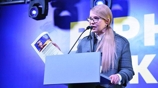 Царев рассказал, что будет, если Тимошенко не пройдет во второй тур