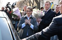 СМИ: Сторонники Тимошенко ставят палатку у здания ЦИК