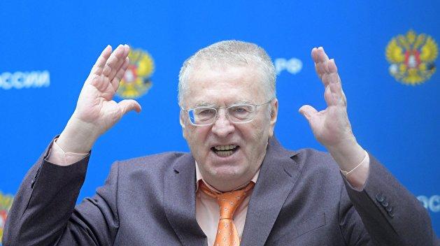 Жириновский: ЛДПР внесла в Госдуму проект постановления о непризнании Москвой выборов на Украине