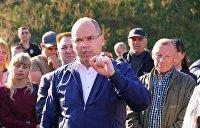 Глава Минздрава Украины Степанов прибыл в Черкассы, где взбунтовались против карантина