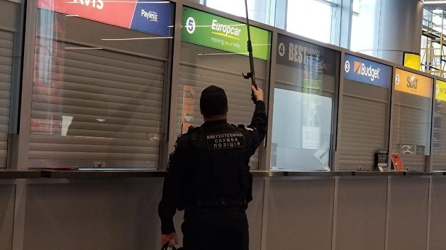 Авиасообщение на Украине парализовали «заминированные» аэропорты