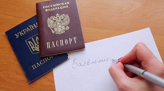 Почти 90% жителей республик Донбасса хотят получить паспорт РФ – МВД