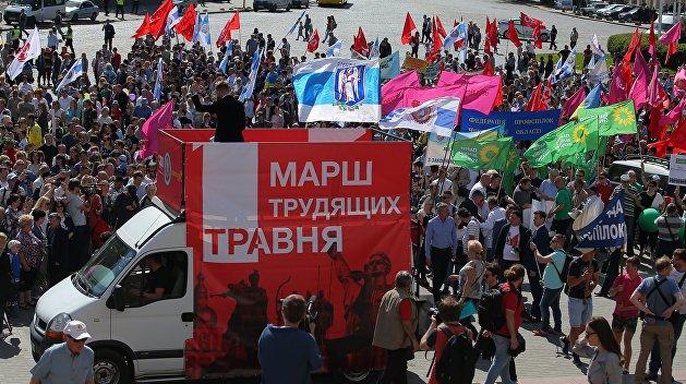 Отмена профсоюзов. В Украине декоммунизировали Первомай вместе с Трудовым кодексом