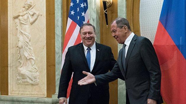 Переговоры Лаврова и Помпео длились три часа