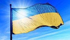 Самый высокий в мире небоскреб подсветили в цвета украинского флага
