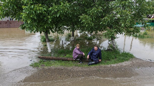 На Прикарпатье затопило почти 70 домохозяйств