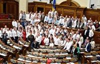 Ансамбль песни и пляски Верховной Рады Украины: солисты и подтанцовка в партийных списках