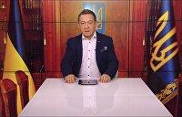 Муждабаев провозгласил себя президентом Украины