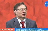 Украинский академик Пешко о будущем Украины и России – видео