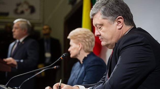 Порошенко предрекает отмену антироссийских санкций Советом Европы, НАТО и G7