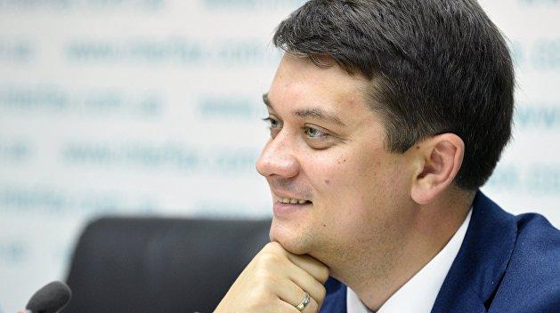 «Гетман Разумков». Сможет ли спикер стать президентом?