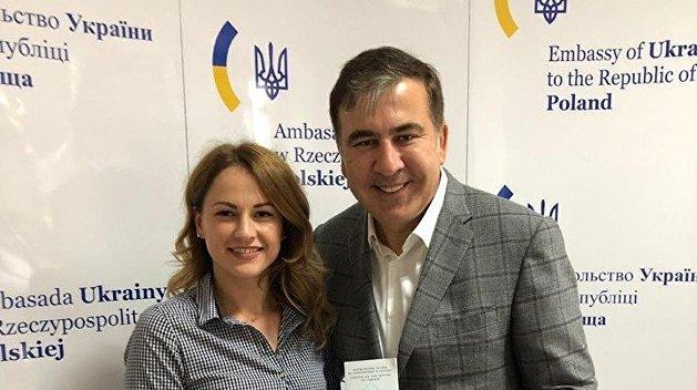 Саакашвили получил в Польше документ для возвращения на Украину