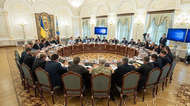 Зеленского просят срочно собрать СНБО в связи с решением ПАСЕ