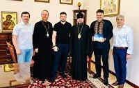 Против Филарета и Порошенко. Зачем встречались неонацисты с митрополитом ПЦУ Епифанием