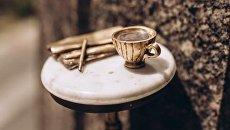 В Киеве появился мини-памятник местному кофе