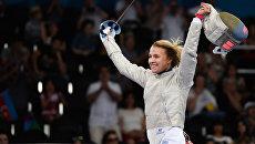 Украинка Ольга Харлан победила на Чемпионате Европы по фехтованию