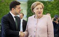 Психиатр: Меркель перед встречей с Зеленским могла отравиться, поэтому у нее были судороги