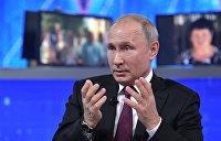 Трагический Зеленский и традиционная атака на приложение. Что Путин сказал об Украине