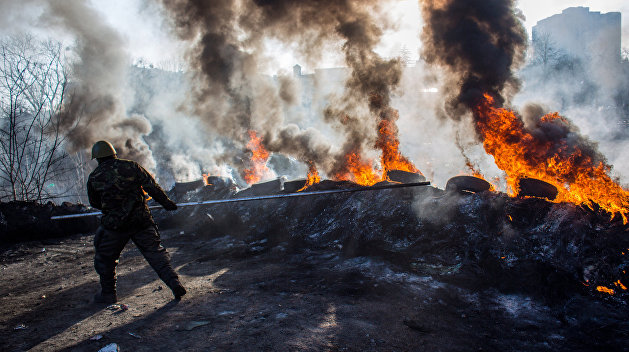 Киевский суд арестовал улицу, где произошёл расстрел активистов Майдана