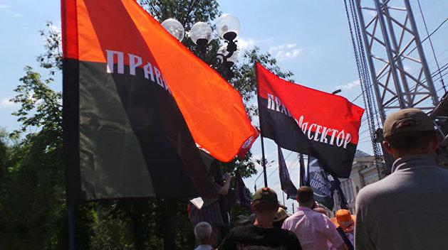 Лидер «Правого сектора»* рассказал, против кого националисты будут бороться на выборах в Киеве