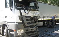 Полиция отчиталась о расследовании смертельного ДТП большегрузов на въезде в Киев