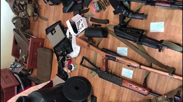 В России поймали международных преступников, торгующих оружием с Украины