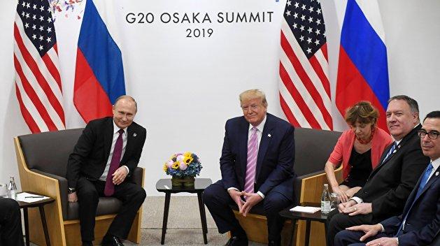 Лавров: Путин и Трамп обсудили Украину