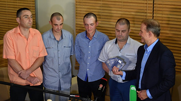 Республики Донбасса в одностороннем порядке освободили четырех пленных