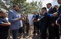 Зеленский предложил потратить немецкие кредиты на николаевские дороги