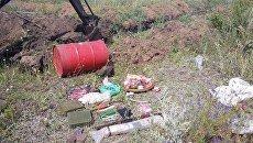 Схрон с оружием и боеприпасами обнаружили под Луганском – МГБ ЛНР