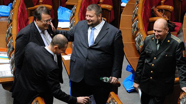 Геращенко и Мосийчук подрались в Раде