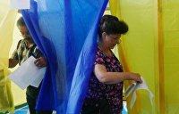 На Украине назвали единственное условие для отмены выборов в «красной зоне»