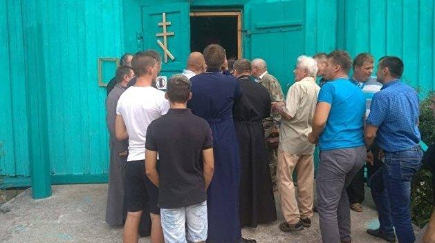 Церковные войны. Раскольники ПЦУ захватили храм Киевского патриархата