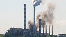 Облако черного дыма накрыло Днепр из-за аварии на Приднепровской ТЭС