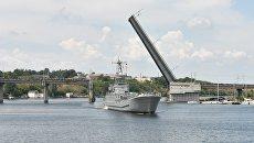 Крупнейший десантный корабль ВМС Украины отправили на ремонт