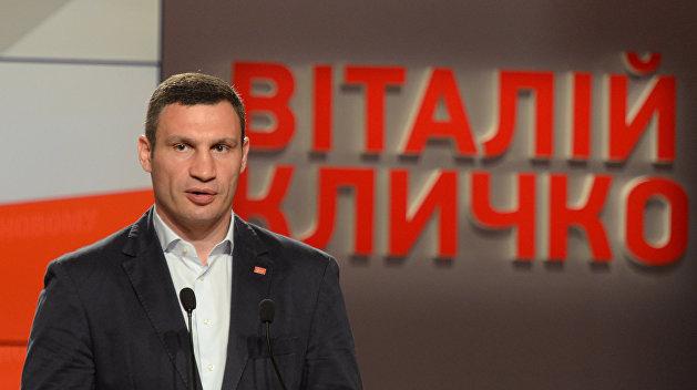 Кличко собирается вновь участвовать в выборах мэра Киева