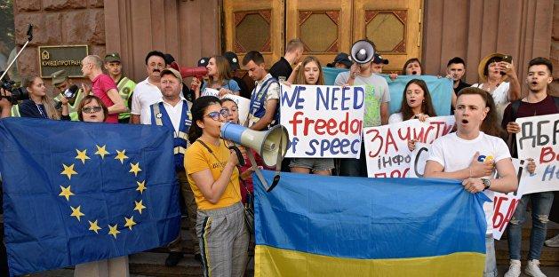 Украина без свободы слова. Это признала даже Европа