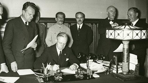 Пакт как факт. Договору о ненападении между Советским Союзом и Германией исполнилось 80 лет