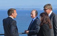 Переговоры Путина с Зеленским состоялись. Провел их Макрон