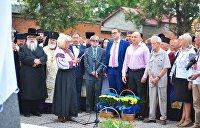 Палачи и жертвы. Во Львовской области освятили памятник ОУН-УПА*, установленный на еврейском кладбище