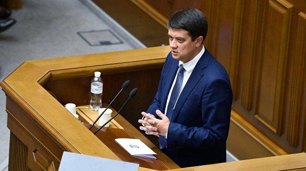 COVID-19 в Верховной Раде Украины: Разумков рассказал, сколько депутатов болеет