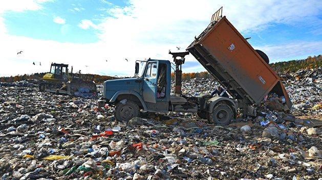 Львовский мусор незаконно выбросили под Полтавой